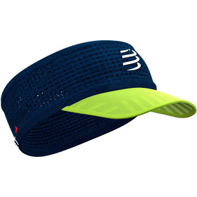 Compressport Spiderweb On/Off Pandebånd, blue/lime